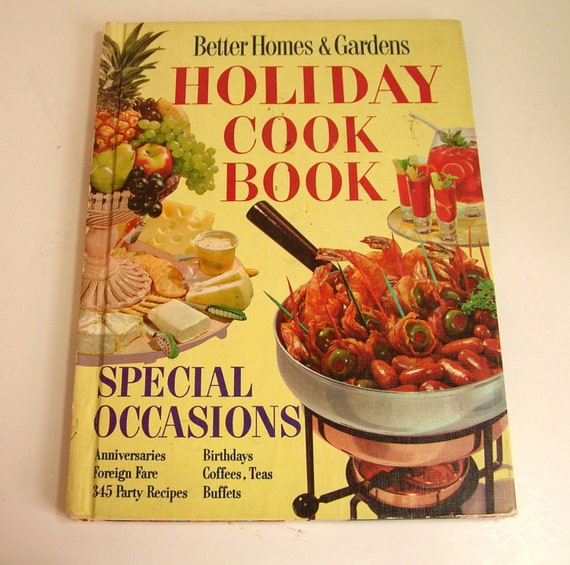 Better homes and gardens holiday cookbook special occasions Better homes and gardens christmas special