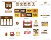 Oktoberfest Beer Tasting Party Printables