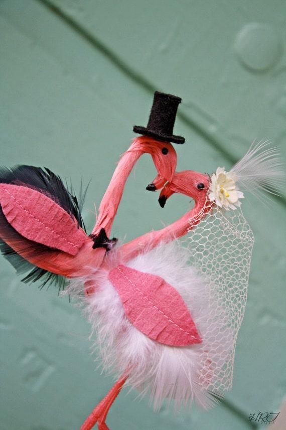 Flamingo Cake Topper Etsy