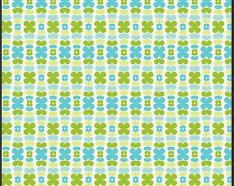 Color Me Retro Kitchenette Honeydew  - 1 Yard
