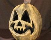 Paper Mache Pumpkin 001