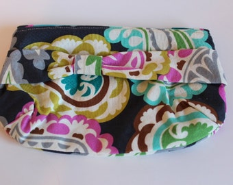 Bright Paisley Clutch
