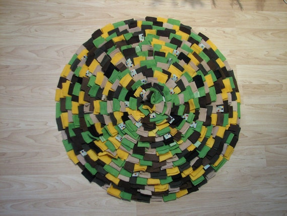 john deere colors chunky shag rug with loops by