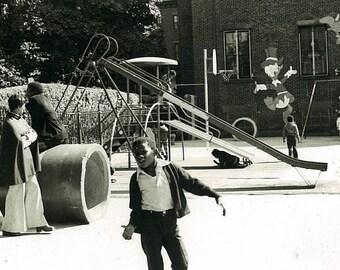 Children in Playground 8x10 photograph