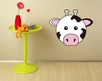 Animaru Cow Wall Sticker