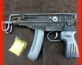 Steampunk cyber shot gun Star Wars Han SOLO Victorian sci-fi pirate BB Airsoft  Spring Gun---ZOMBIE killer - oldjunkyardboutique