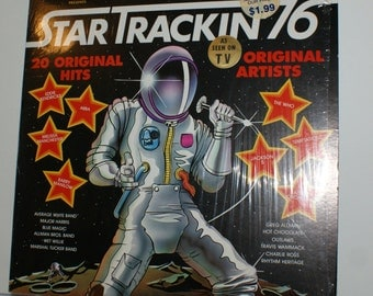 Star Trackin 76 Album Jackson 5, The Who Abba 1976 Ronco Record LP Vintage Vinyl