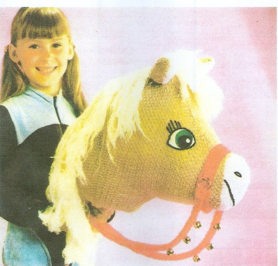 Knitting Pattern Toy Horse : Knitting Pattern Hobby Toy Horse PDF Instant Download