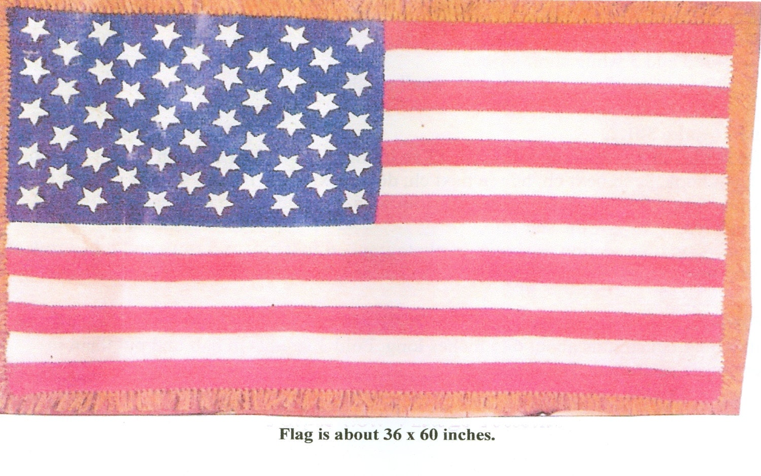 Crochet Pattern American Flag : American Flag Afghan Throw Crochet Pattern Pdf by dianeh5091