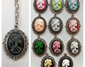 Living Dead Girl Cameo- Necklace