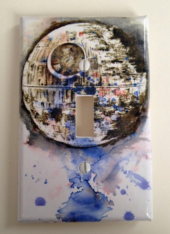 star star wars art room decor decorative light switch cover plate star