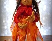 OOAK Art Doll Faery Wisp