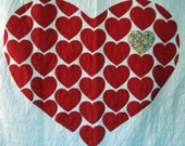 Applique Quilt Pattern PDF Heart of Hearts