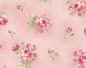 Ellie Ann by Eleanor Burns for Benartex Cotton Fabric Rose Petit Rose  1234 24