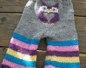 Owl bum longies price for Medium Made to order