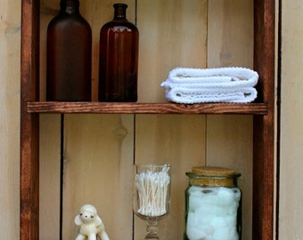 Hanging Shelf - Kitchen - Bath - Spice Rack - Paris Apartment - Shabby - Cottage Chic - Storage Shelves