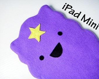 Lumpy Space Princess ipad mini case/ tablet sleeve