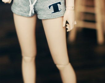 MSD Sweat short pants Grey powder pink
