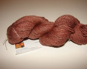 220 Yards of Wool/Silk Blend of Fingering Weight Yarn