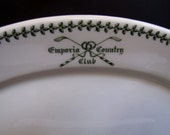 Syracuse Pottery Restaurant Ware Platter, Emporia Country Club