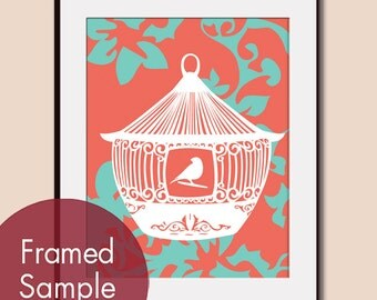 Antique Bird Cage (C)  8x10 Art Print (Featured in Hibiscus and Tiffany Box) buy 3 get one free.