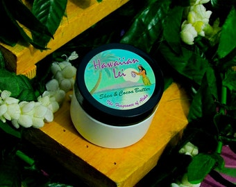 Hawaiian Lei Body Butter (Paraben-Free) Avail. in 3 sizes