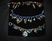 Unique Charm Bracelets, Glittering Blue, Ocean Life and Desert Life