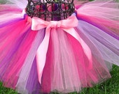 Pink and purple tutu- Girls Birthday Tutu-1st birthday tutu-3,6 9, 12, 18, 24 months, 2t, 3t, 4t, 5t- Doc McStuffins Costume- Party tutu