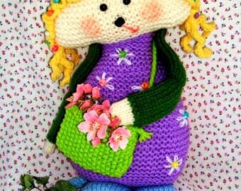 SWEET PEA  knitting  pdf