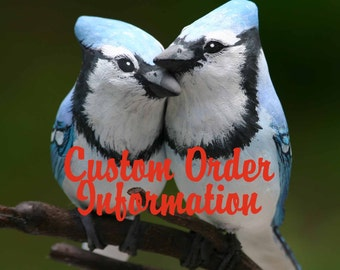 Custom Made to Order Wedding Cake Topper