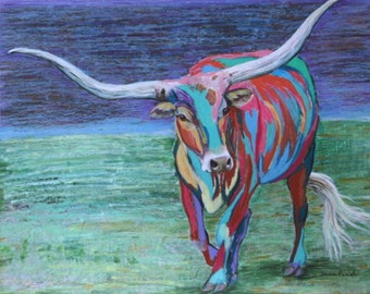 Cactus Jack lll the Texas Longhorn Steer