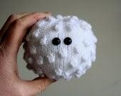 Knit your own white blood cell (basophil) (pdf knitting pattern)