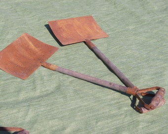 Rustic 4  Decorative Garden Shovels
