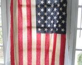 Item On HOLD-Vintage American Flag