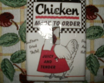 Chicken Switchplate Cover