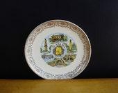 Alabama Love - Vintage Souvenir Plate - AL State Plate