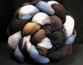 Handpainted Merino Roving - STORM WARNING