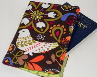 Passport Cover - Birds of Norway Passport Holder