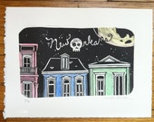 Reserved for Renee - New Orleans Night Print
