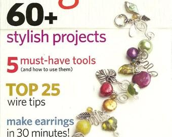 Easy Wire 2007 Jewelry Magazine Like New 60 plus stylish projects