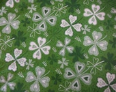 Luck o The Irish Fabrics--Four Leaf Clovers--Fun fabrics - Altcollect