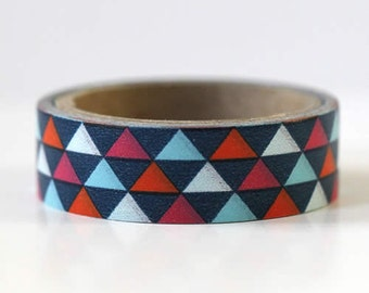 Triangle Washi Tape Mini Size Gift Wrapping Embellishment