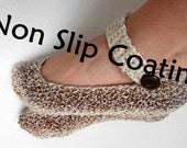 Non Slip Coating for JanaHknits Slippers / non slip shoe sole