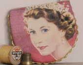 Queen Elizabeth Handmade Coin Purse