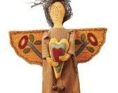 Primitive Pattern E Pattern pdf Folk Art Angel INSTANT DIGITAL DOWNLOAD