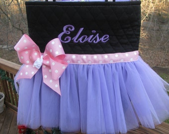 Personalized Ballet Tutu Bag - Pink and Purple