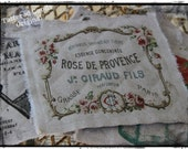 Handmade, Hot Pad, Serving Mat, French Cottage Chic (rose de provence)