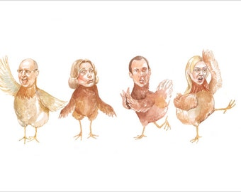 Arrested Development Chicken Dance Print 8 x 10