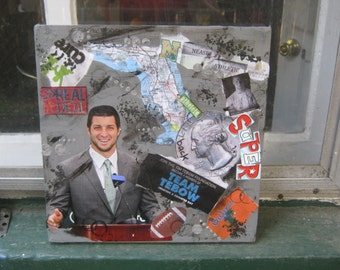 Mixed Media - Tim Tebow