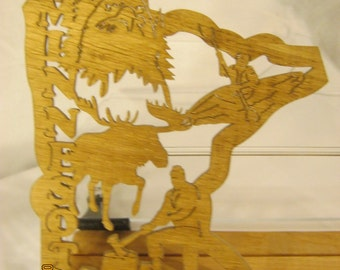 US STATE of MINESOTA Scroll Saw Plaque